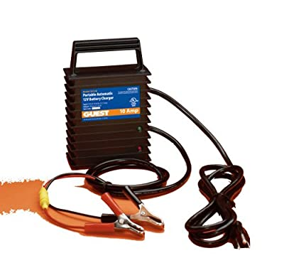 Guest 2612A Portable Marine Battery Charger (12-Volt, 10-Amps, Single Output)