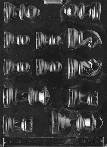 CHESS PIECES Miscellaneous Candy Mold Chocolate