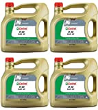 Castrol Classic R40 Castor Base Racing Engine Oil CAS-1948-7009-16 - 4x4L = 16 Litre