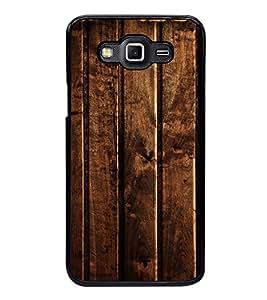 Fuson Premium 2D Back Case Cover Designed wood With Purple Background Degined For Samsung Galaxy E5::Samsung Galaxy E5 E500F