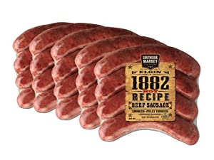 Southside Market 1882 Hot Recipe Sausage 5lb by Southside Market