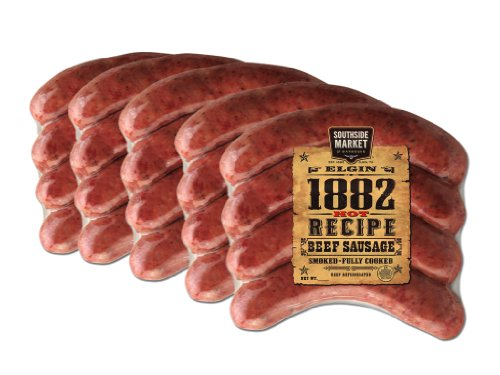 Southside Market 1882 Hot Recipe Sausage