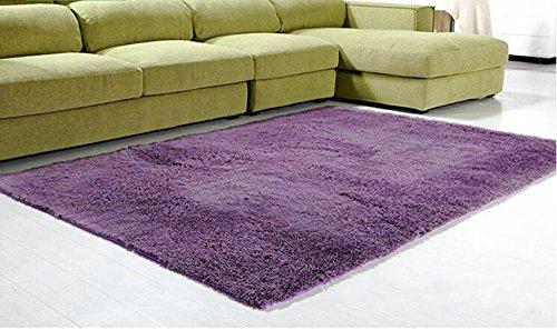 Super Soft Modern Shag Area Rugs Living Room Carpet