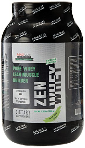 Magnus Nutrition Zen Whey - 2.2 Lbs (Green Apple Fusion)