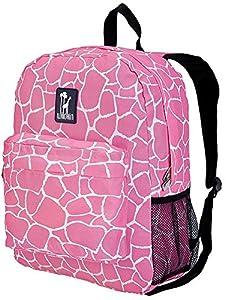 Wildkin Majestic Crackerjack Backpack,One Size,Pink Giraffe