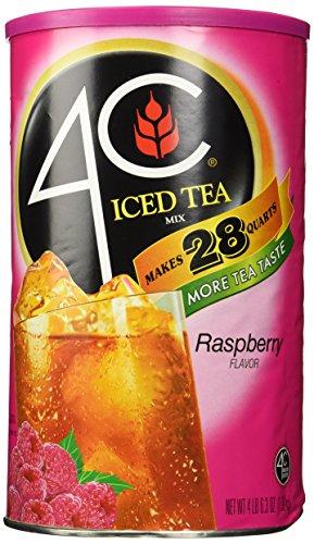 4C Instant Iced Tea Mix, Raspberry 74.2oz (4c Iced Tea Mix compare prices)