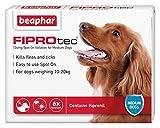 Best Dog Fleas - Beaphar FIPROtec Pipette for Medium Dog, Pack of Review