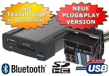 XCarLink 2 USB changeur SD AUX MP3 Voitures Auto Radio Music adaptateur d'interface pour BMW (Les broches plates) avec affichage du texte pour Série 3 (E46), série 5 (E39) X3 (E83) X5 (E53) Z4 (E85) Mini Cooper - Branchez & Play Version