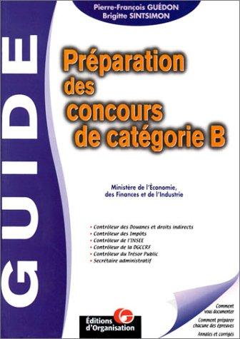 4aee114a27d Préparation des concours de catégorie B   ministère de l économie ...