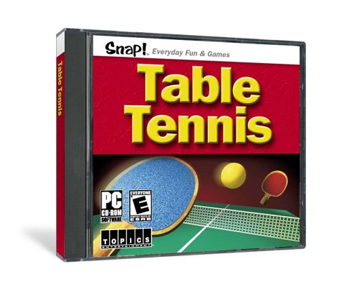 SNAP! Table Tennis (Jewel Case)