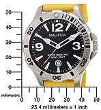 Nautica Men's N11545G BFD 101 Diver Black Dial Watch