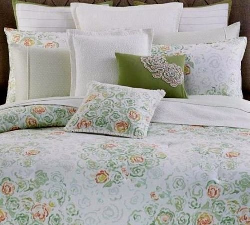 Barbara Barry bouquet queen full duvet cover set