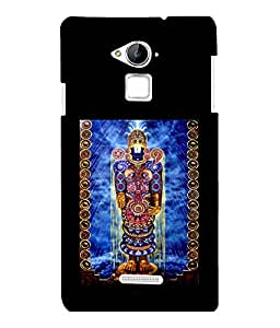 printtech Lord God Balaji Back Case Cover for COOLPAD NOTE 3 / COOLPAD NOTE 3 PLUS