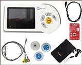 EKG Gerät mobil handheld MD100E Farb LCD mit viel Zubehör