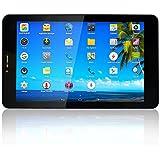 Yuntab K03 Tablette Tactile 7 pouces 1,2 GHz Tablette 3G Wifi Tablette Quad Core Tablette Android 4.4 IPS 1280*800 ( 8Go Flash 1Go Ram, GPS, WiFi, Tablette SIM doubles Cartes pourInternet et Appel )