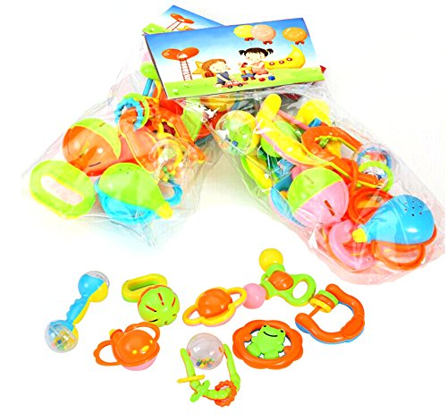 8pcs Baby Toys Ring the Bell By Marljohns - 1