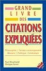 Grand Livre Des Citations Expliquees