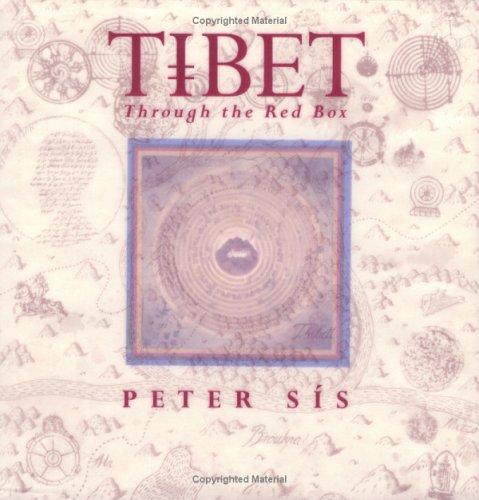 Tibet Through the Red Box (Caldecott Honor Book), Peter Sís