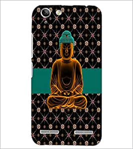 PrintDhaba Lord Buddha D-5629 Back Case Cover for LENOVO VIBE K5 (Multi-Coloured)