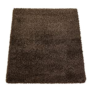 Flair Rugs Nordic Cariboo Shaggy Rug, Brown, 200 x 290 Cm from Flair Rugs