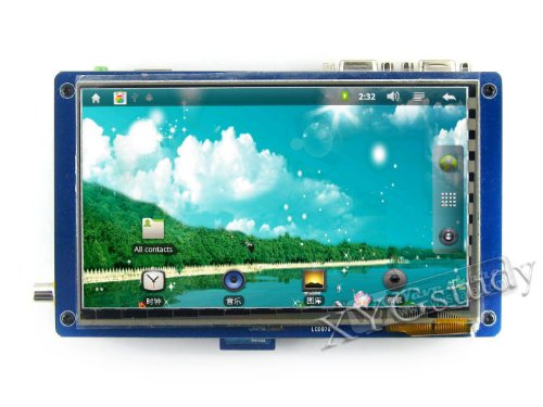 [X210Ii Package C] Samsung S5Pv210 Arm Cortex A8 Development Board + 7'' Inch Capacitive Touch Lcd Supports Linux+Android 2.3/4.0, Linux+Qt @Xyg