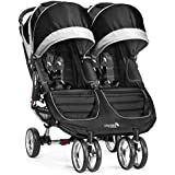 Baby Jogger City Mini Double Stroller, Black/Gray