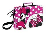 MINNIE MOUSE - School briefcase bag (38 x 28 x 6cm)