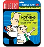 HandStands Dilbert Nothing Mouse Mat