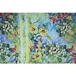 Triveni BRASSO Fabrics (TSFD020_LIGHT GREEN)