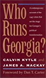 img - for Who Runs Georgia? book / textbook / text book