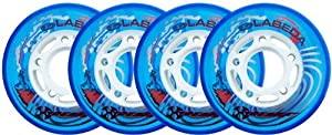LABEDA WHEELS Roller Hockey EXTREME 72MM SOFT BLUE x4 by Labeda