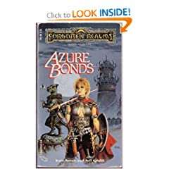Azure Bonds (Forgotten Realms) by Jeff Grubb and Kate Novak