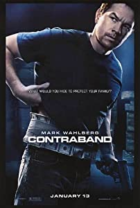 Contraband Advance Movie Poster Double Sided Original 27x40