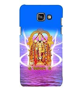 printtech Lord God Venkateshvara Back Case Cover for Samsung Galaxy A7 (2016)
