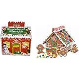 Create-a-treat Gingerbread House Kit, Deluxe Model