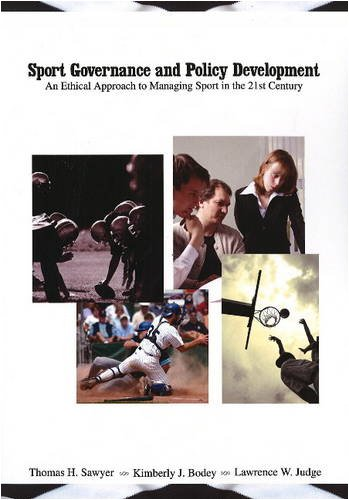 Sport Governance and Policy Development An Ethical...