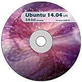 Ubuntu Linux 14.04 64 Bit Desktop Live DVD LTS -Replace Windows