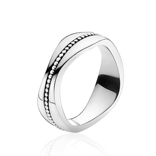 Georg Jensen Silver Modern Ring 574A