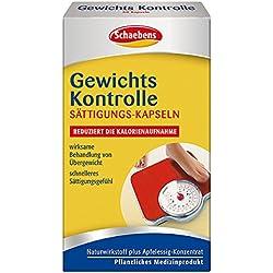 Schaebens Gewichts Kontrolle Sättigungs-Kapseln, 1er Pack (1 x 60 Stück)