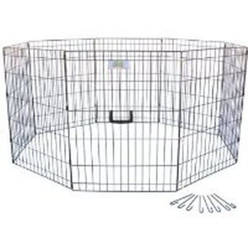 Go Pet Club 30-Inch High Wire Play Pen 8-Panels