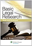9781454808473: Basic Legal Research: Tools and Strategies, Fifth Edition (Aspen Coursebook Series)