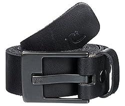 Quiksilver Men's Leather Belts (UQYAA03137_Black) (888256971721)