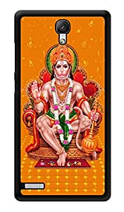 "Humor Gang Hanuman Hindu God Printed Designer Mobile Back Cover For ""Xiaomi Redmi Note - Xiaomi Redmi Note 4G"" (3D, Glossy, Premium Quality Snap On Case)"