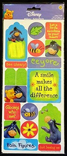 Eeyore & Pooh Autocollants Stickers - 1