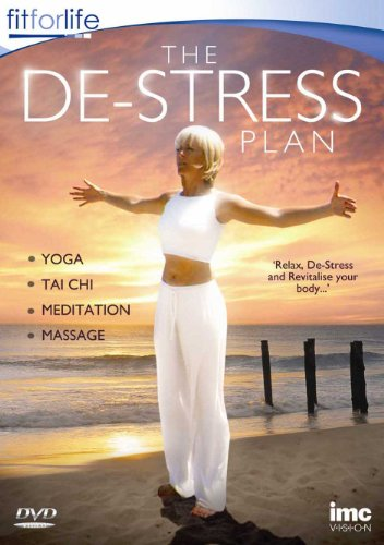 De-Stress Workout Plan Including Yoga, Tai Chi, Meditation & Massage - Fit for Life Series [DVD]