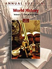 Annual s World History Volume 2 1500 to the Present by Joseph Mitchell