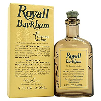 Royall Bayrhum Of Bermuda By Royall Fragrances For Men. All Purpose Lotion 8.0 Oz.