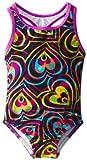 Speedo Little Girls  Summer Love Keyhole One-Piece Swimsuit