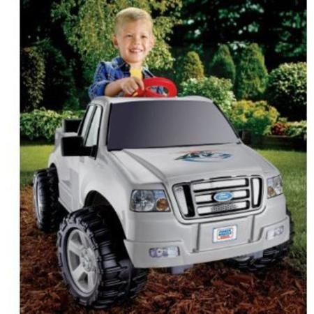 Fisher-Price Power Wheels Silver Ford F-150 6-Volt Battery Powered Ride-On (6v Battery Fisher Price compare prices)
