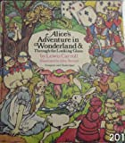 Alice's adventures in Wonderland and Through the looking-glass (Rainbow classics) (0529050315) by Lewis Carroll